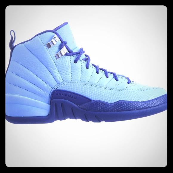 new products 7dfcb fd4c6 Pending sale! Baby blue boys retro 12 Jordans